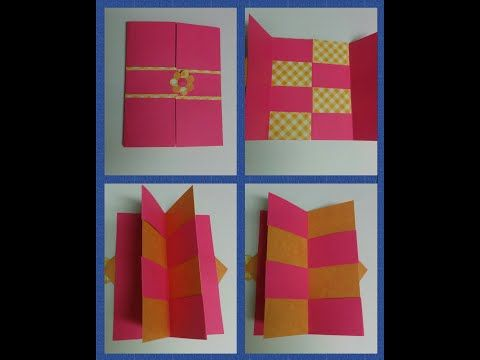 Art Craft How To Make Secret Door Greeting Card Magic Card