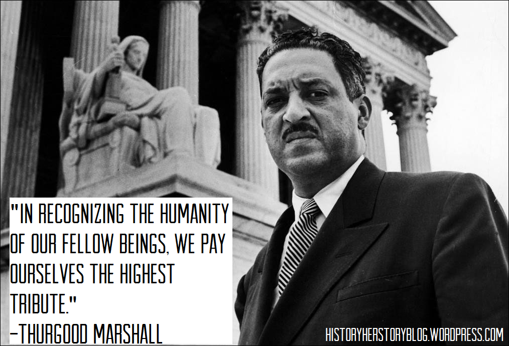 Thurgood Marshall Quotes Endearing Thurgood Marshall Becomes First Africanamerican Justice 1967 . Decorating Inspiration