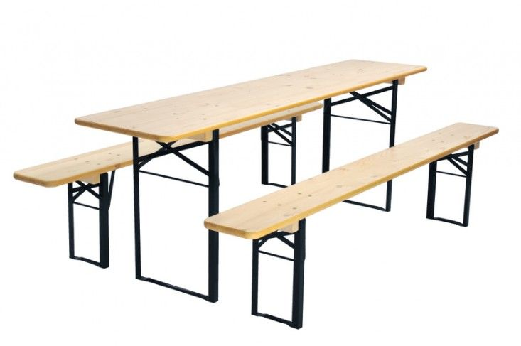 10 Easy Pieces Folding Dining Tables Remodelista Table And Bench Set Garden Table Folding Picnic Table