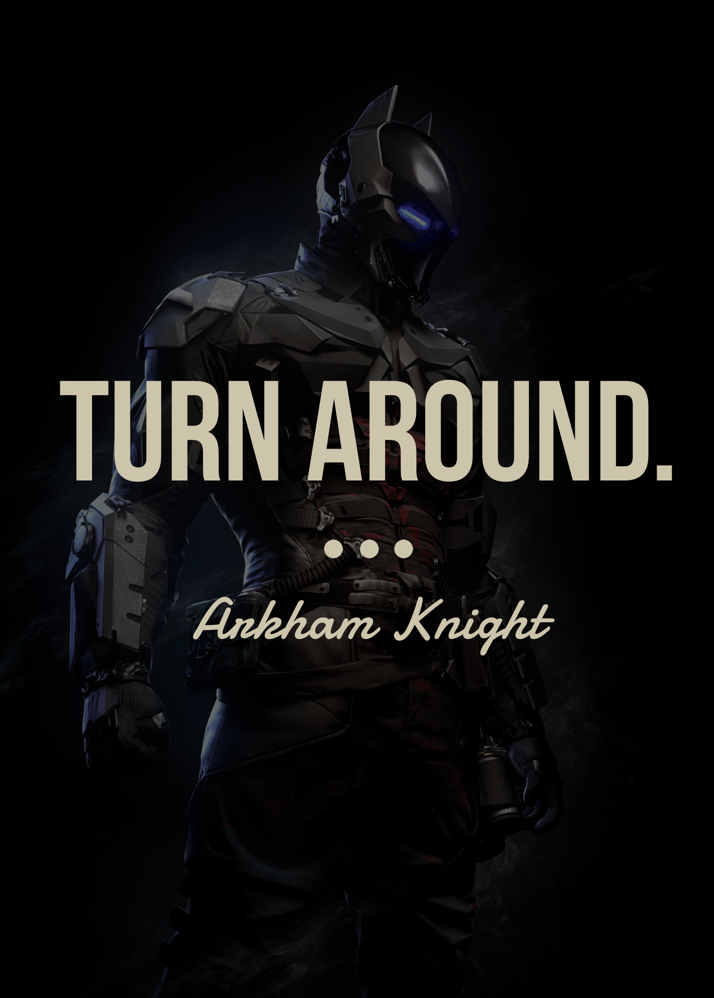 dc character quote • arkham knight