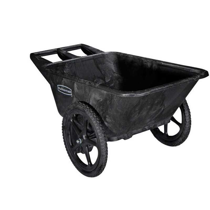 Rubbermaid Commercial Poly Farm Cart 300 Lb Yard Cart Wheelbarrow Rubbermaid Commercial Products