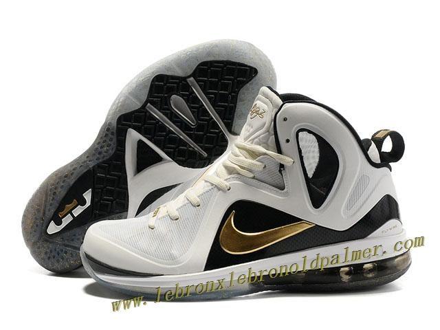 best website 9bd79 947d6 Nike LeBron 9 P.S. Elite Shoes White Gold