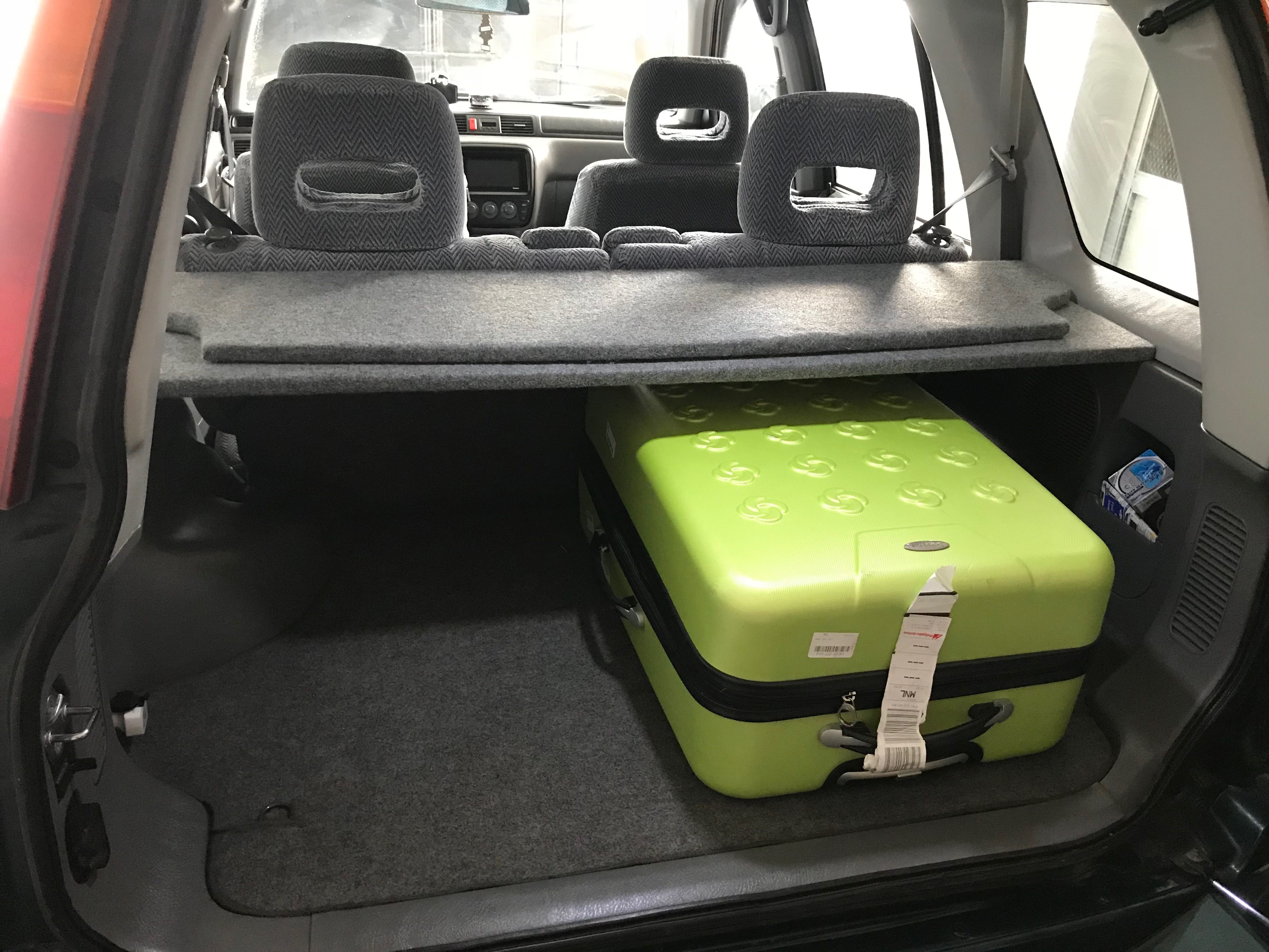Open Cargo Trunks Are Vulnerable To Theft Have A Peace Of Mind When Leaving Your Favorite V Behind Hide Your Valuables With This Made To Order Cargo Cover For