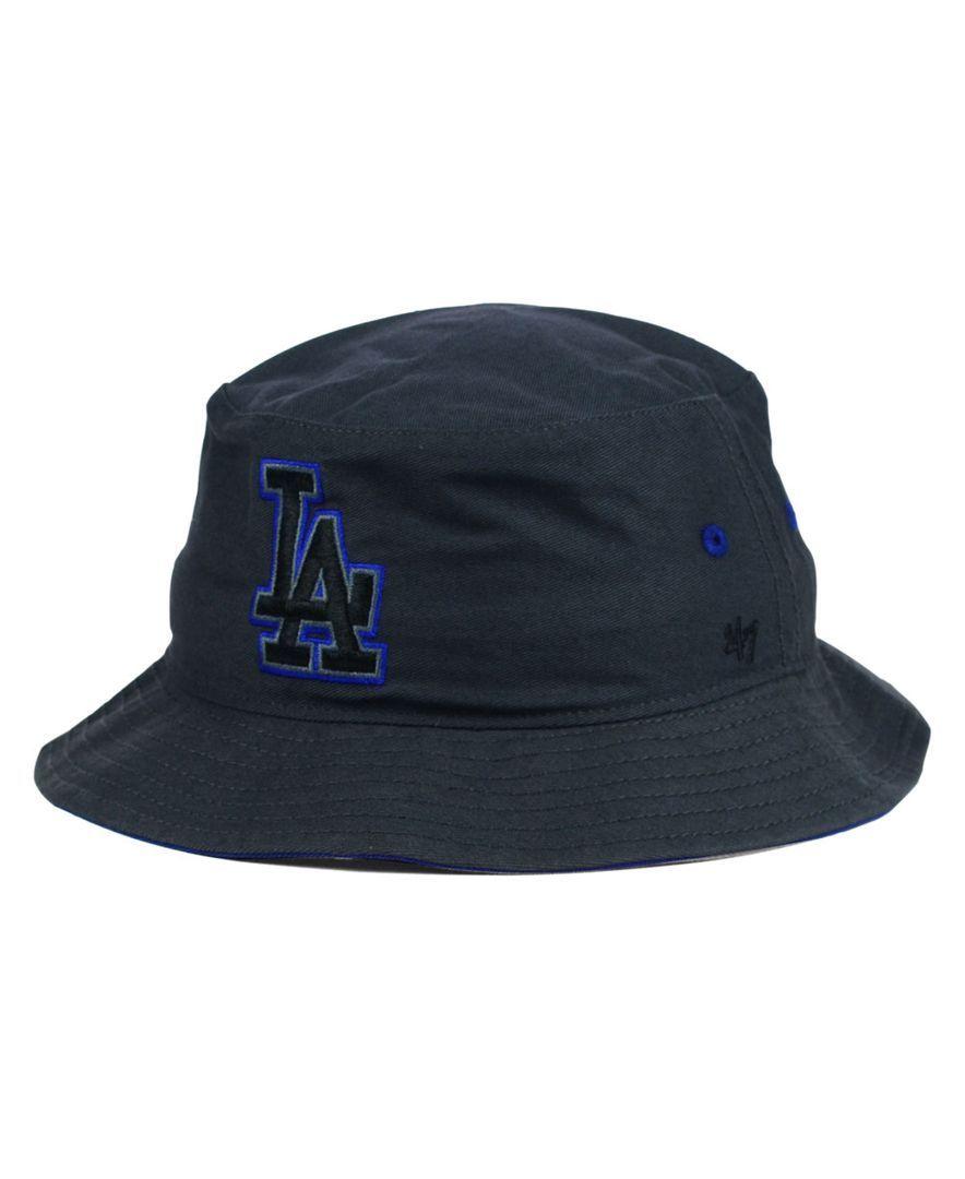 39e8638af44  47 Brand Los Angeles Dodgers Turbo Bucket Hat.