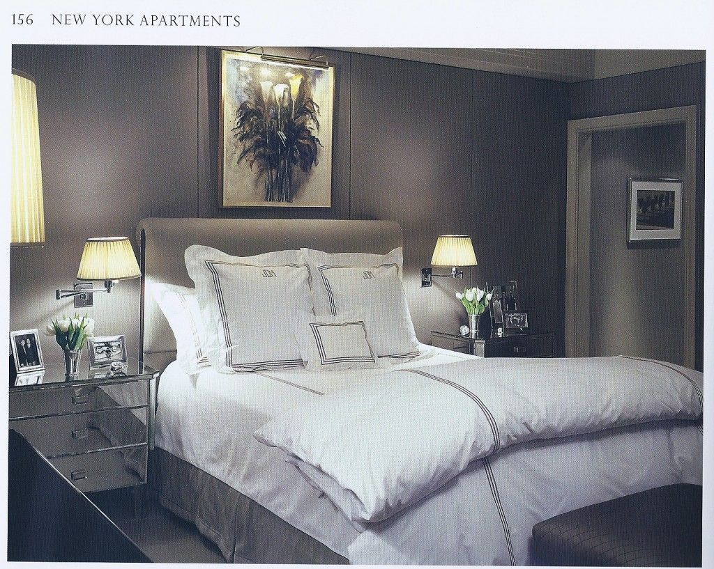 Master bedroom with 2 beds  Grown Man Bedroom Love the wall panels  CRUNCHTIME   Pinterest