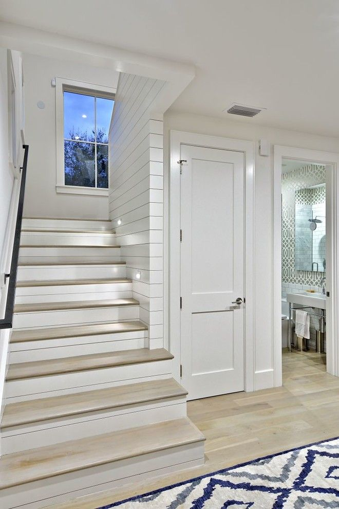 Farmhouse Interior Doors : Sumptuous toilet riser in staircase farmhouse with hall