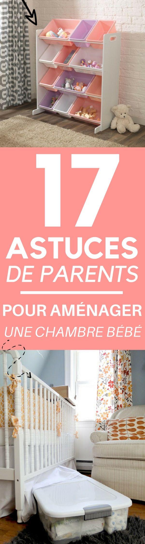 17 Astuces de Parents pour Aménager et Ranger la Chambre de Votre Bébé (sans pour autant ruiner la déco)