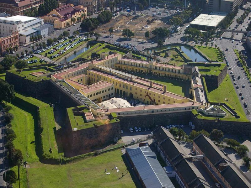 The Castle of Good Hope, Cape Town,
