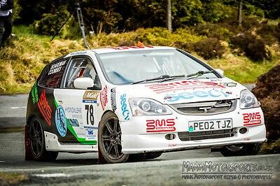 Honda Civic Type R Ep3 Rally Car Fia Homologated Class A7 Group A