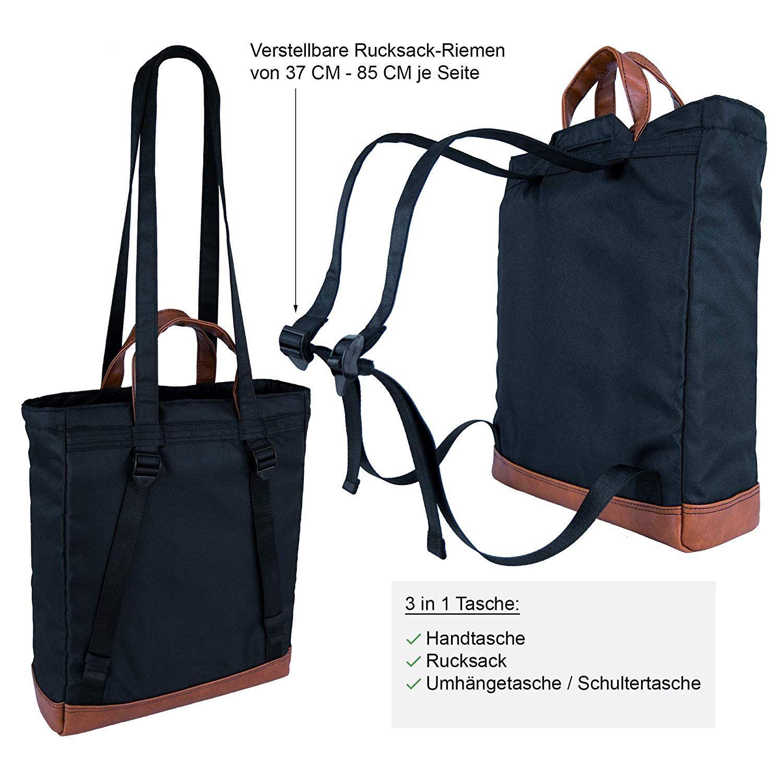 KYHO Totepack ELLA Daypack Rucksack Tasche 2 in 1 Handtasche