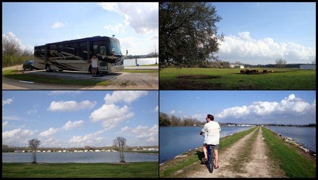 Campground Breaux Bridge Poche S Rv Park Louisiana