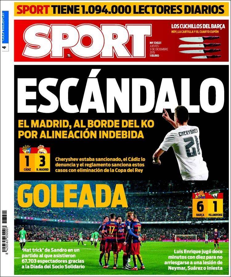 Escándalo del Madrid, quedaría eliminado de la Copa
