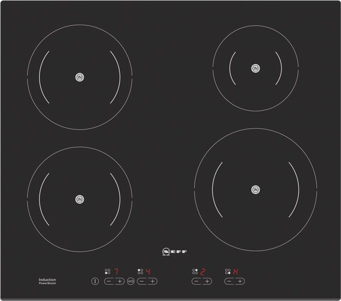 Neff - Series 2, T42D20X1, Induction Hob (Ceramic Glass) - DIY Kitchens