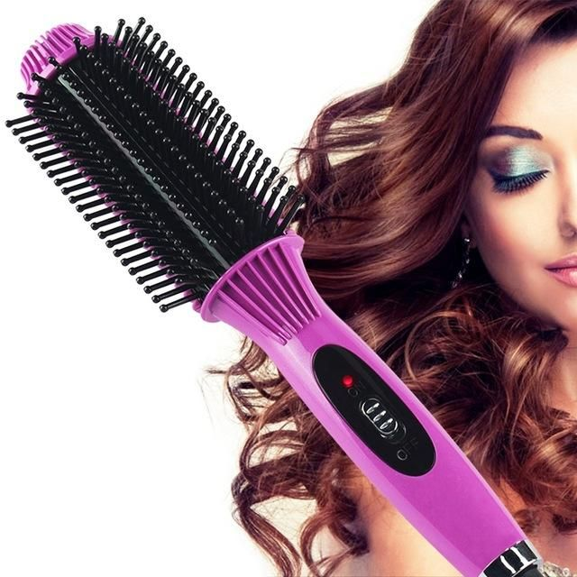 Iconic Beauty 2 in 1 hair straightener and curling iron ...