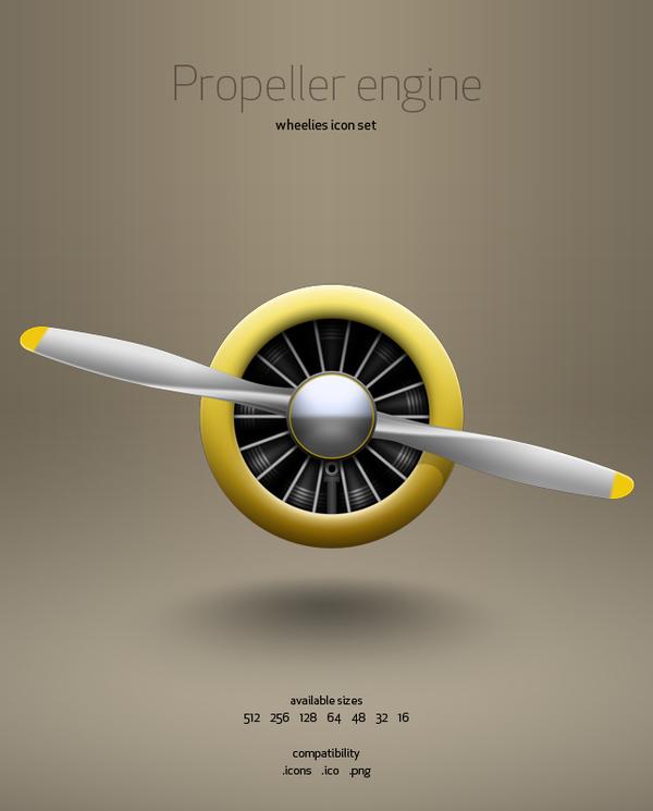 Propeller Engine By Hrvoje Bielen Via Behance