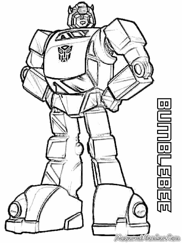 Pin By Liana Wijaya On Vania Transformers Coloring Pages Bee