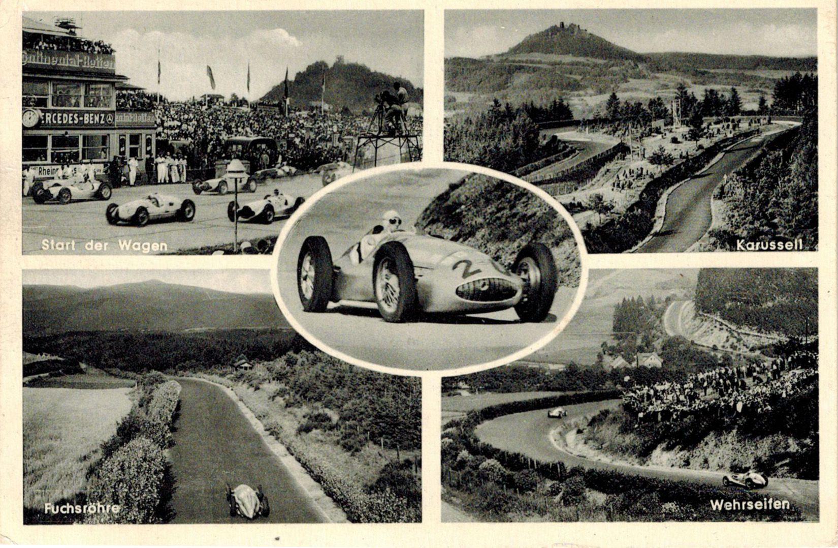Faszination Nordschleife Seit Es Sie Gibt Und Sicher So Lange Es Sie Gibt Nurburgring Nordschleife Nord Postkarten