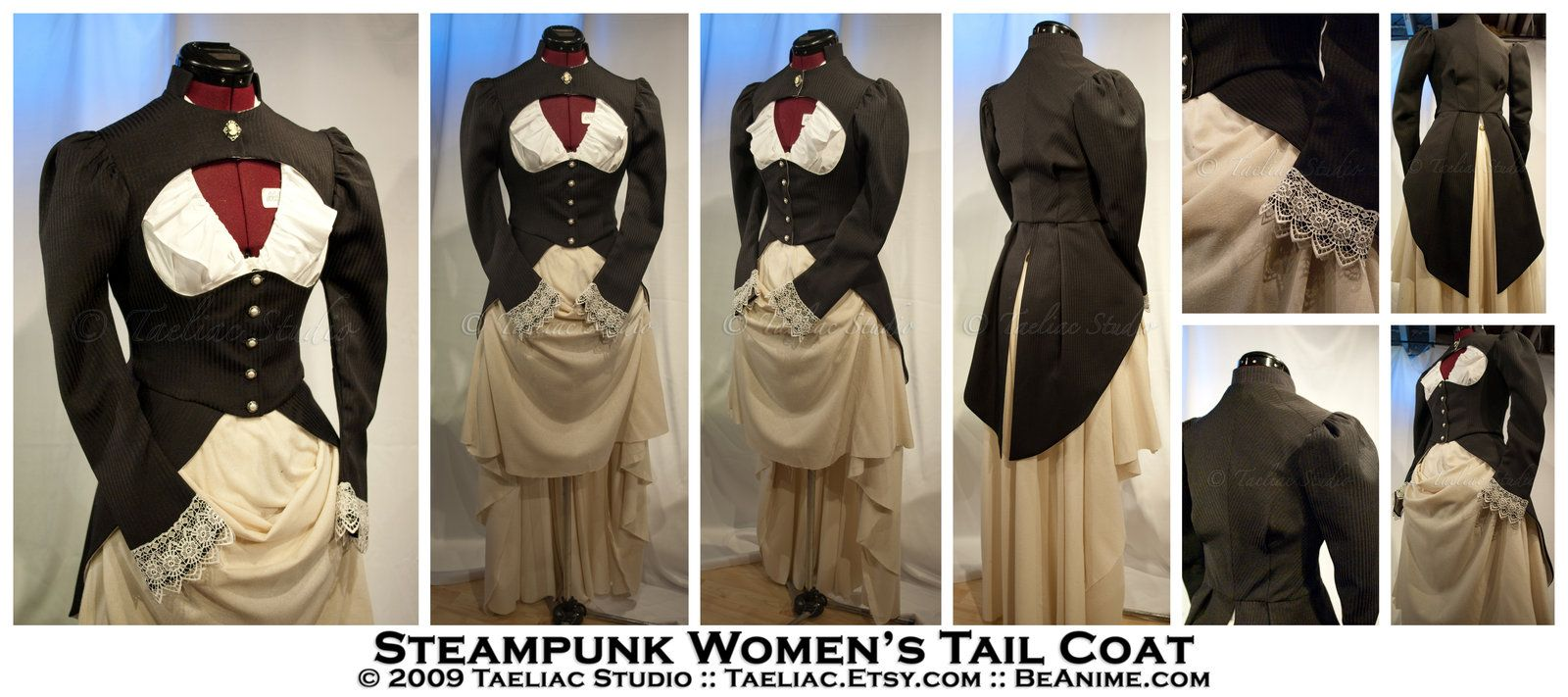 Steampunk womens tail coat by taeliaciantart on steampunk womens tail coat by taeliaciantart on deviantart jeuxipadfo Images