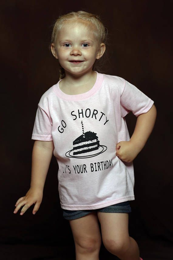 Toddler Birthday Shirt - Unisex Toddler Shirt - Girl Birthday Shirt - Boy Birthday Shirt