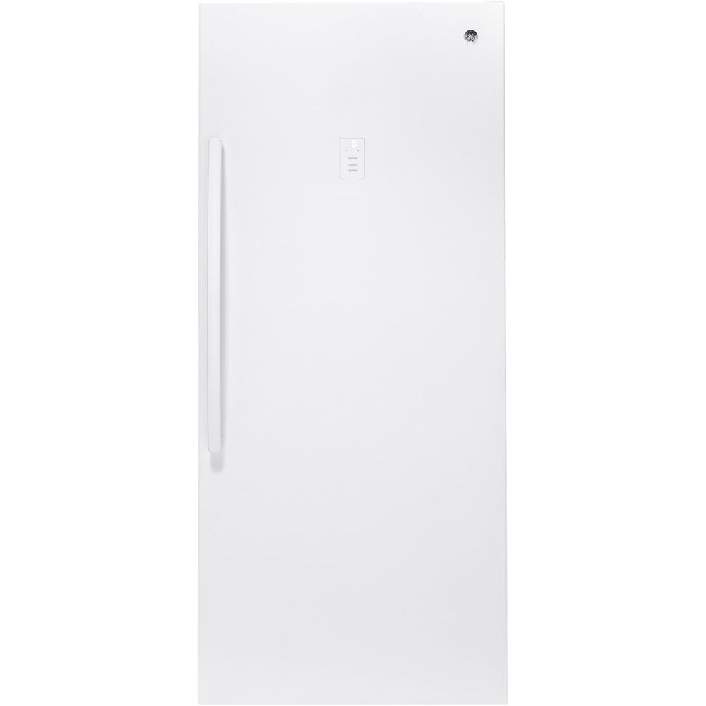 GE 21.3 Cu. Ft. FrostFree Upright Freezer White