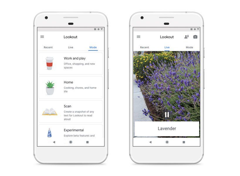 google announces lookout app helping the blind navigate