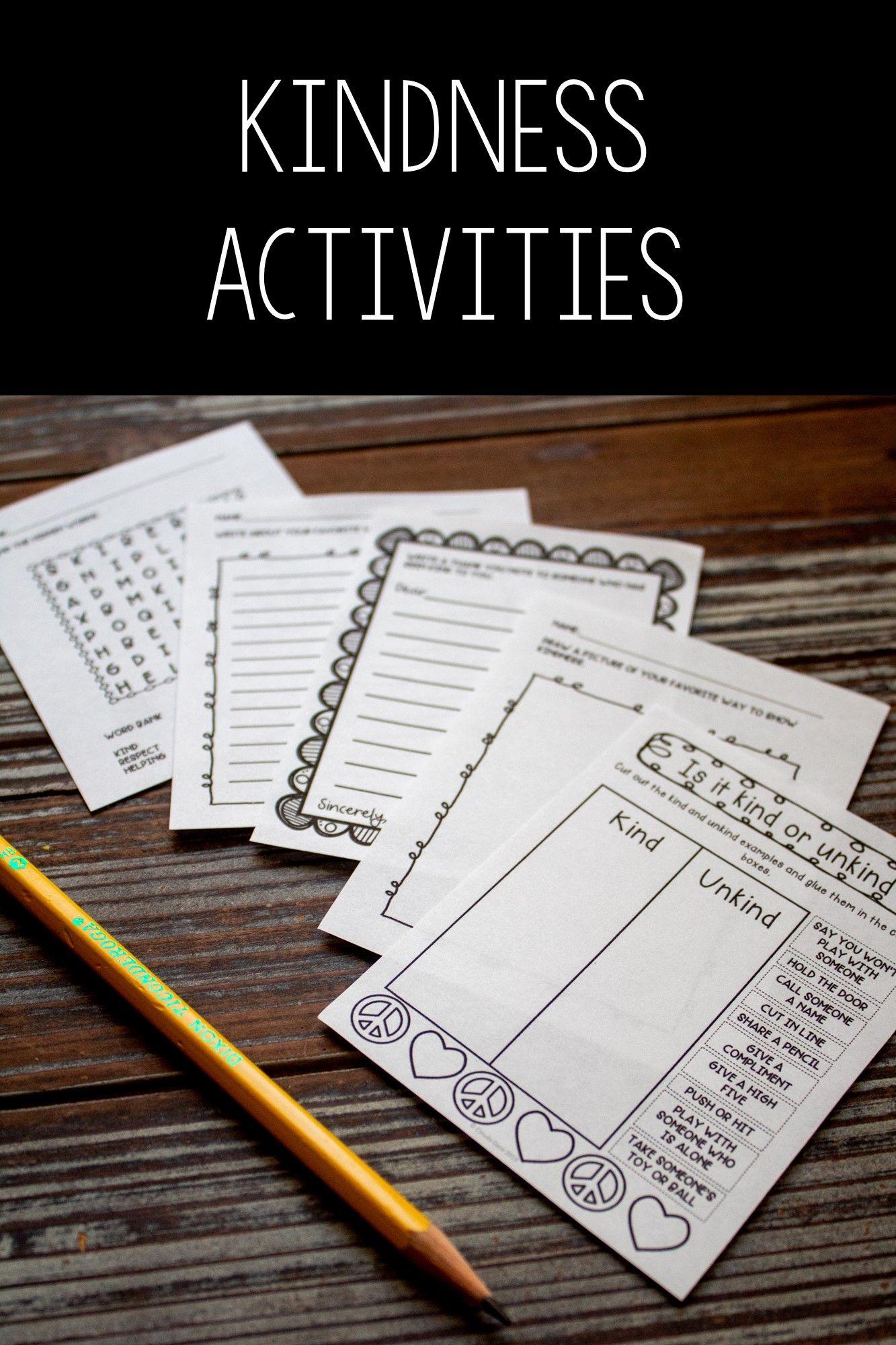 Kindness Activities In