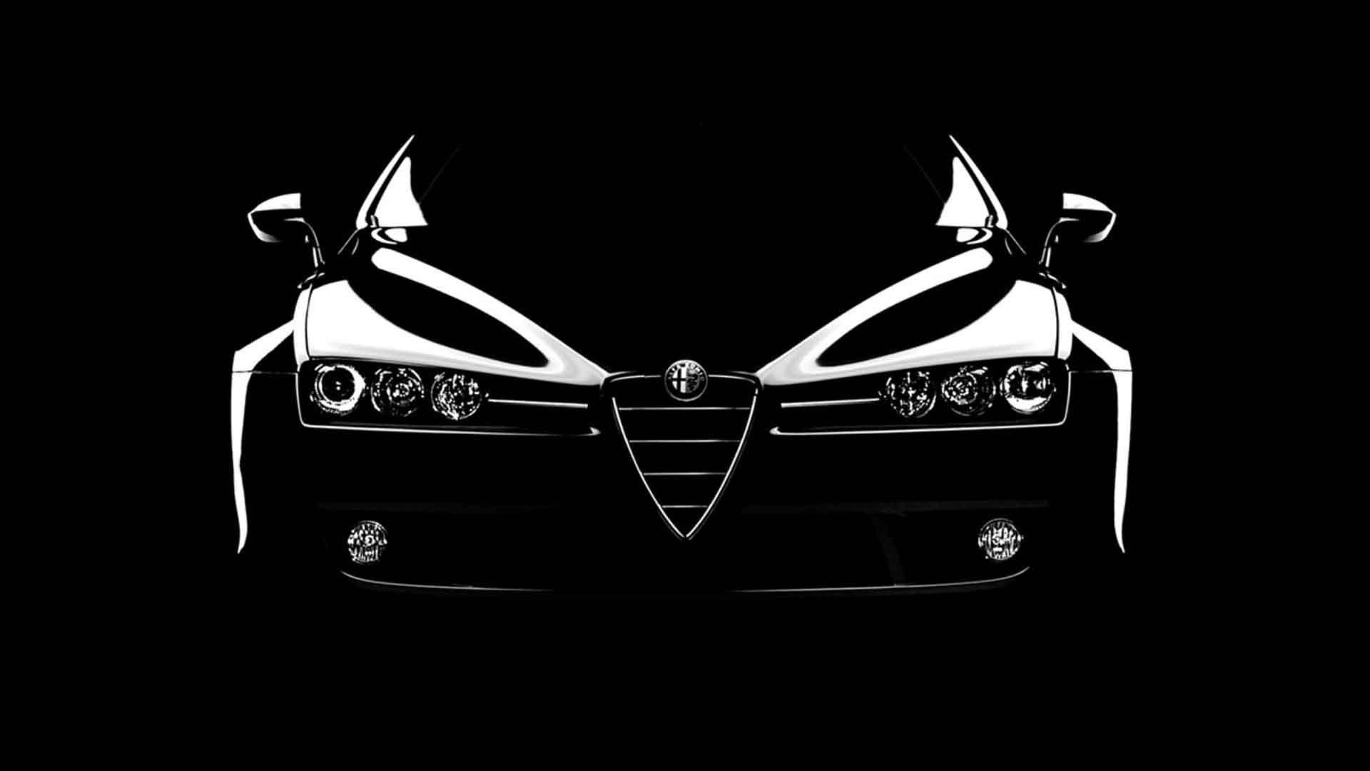 Alfa Romeo Black Cars Hd Wallpaper Alfa Romeo Pinterest Alfa