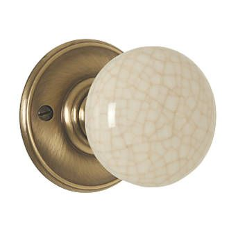 Order online at screwfix for use with a tubular latch solid delamain porcelain mortice knob pair 70mm 2 pack internal doorsdoor planetlyrics Choice Image