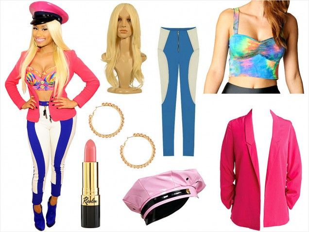 Style Fashion Trends Beauty Tips Hairstyles u0026 Celebrity Style News | Nicki minaj costume ...
