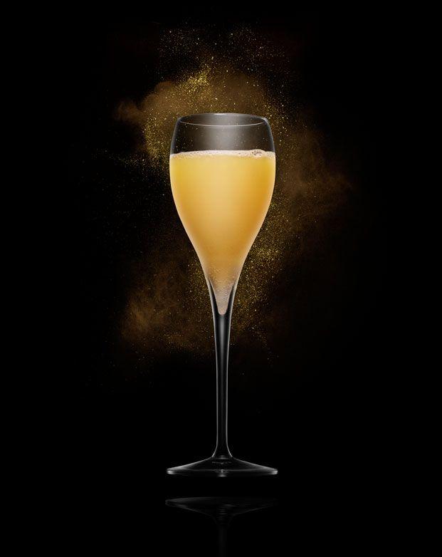 Screwdriver Mimosa 4 part Absolut Tune 1 part orange juice A splash of orange liqueur