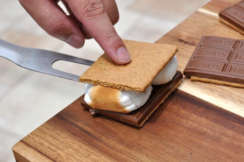 S Mores Smores Schokolade Marshmallows Keks 03 S 8217 Mores
