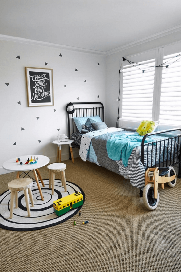 28 Ideas for Adding Color to a Kids Room | Scandinavian ...