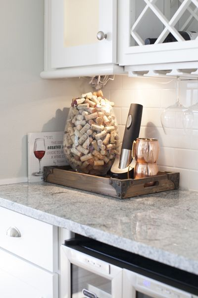 Southern Newlywed: At Home with Emily Ley   Counter top, Kitchen ...