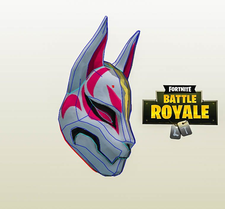 Drift Mask Fortnite Drift Drift Cosplay Fortnite Drift Diy