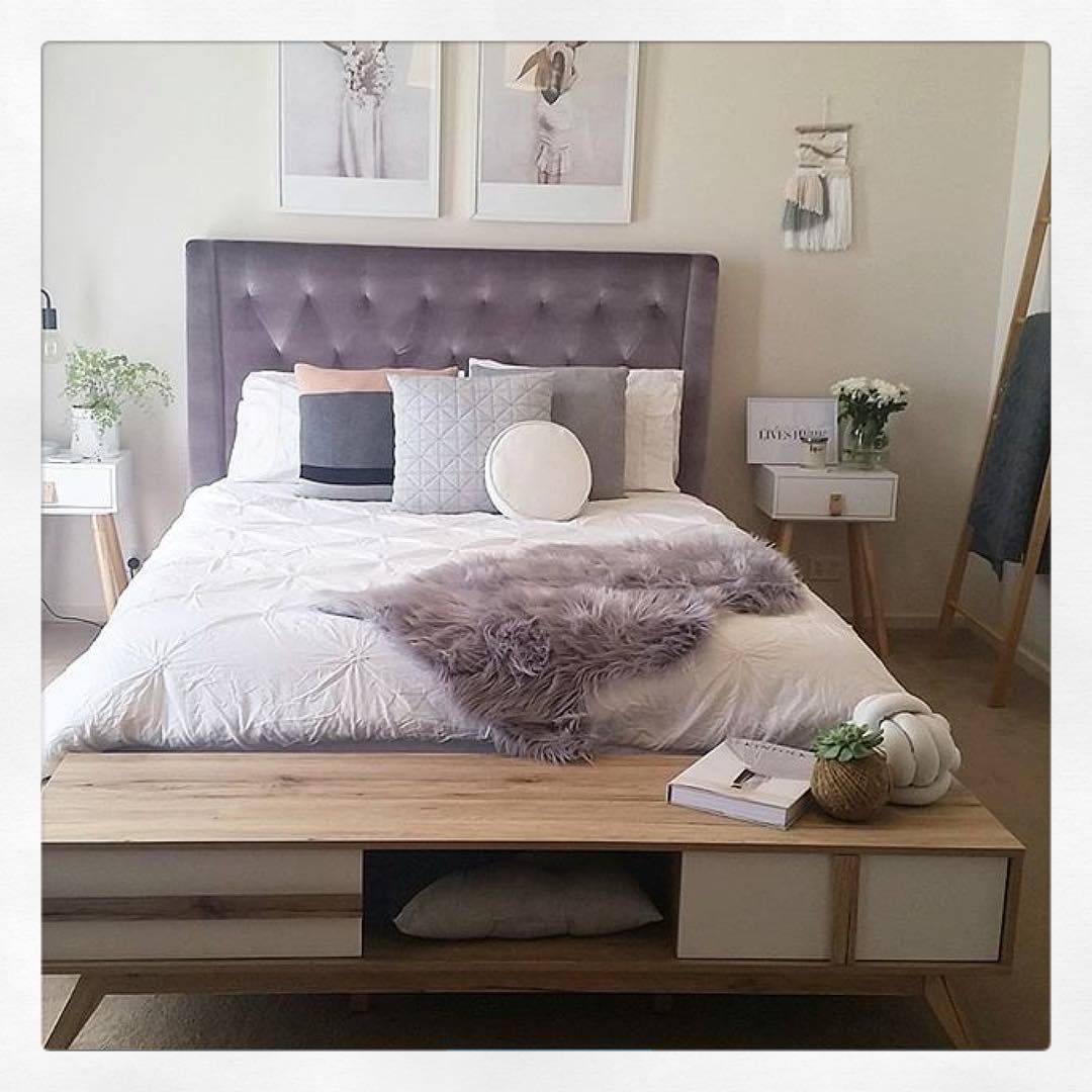 """tamraellis has styled her bedroom perfectly featuring"
