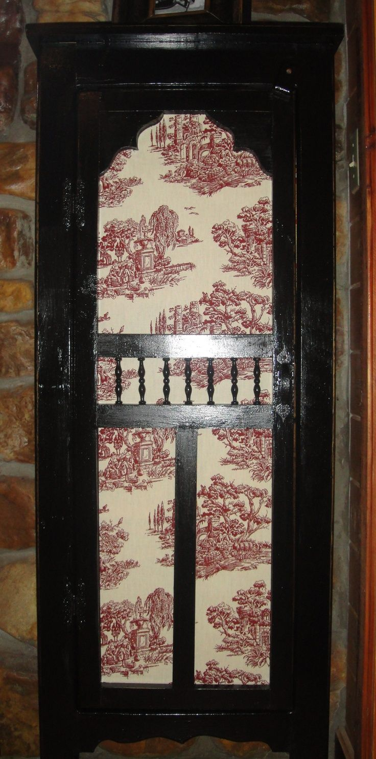 Pics Of Old Screen Doors Small Pantry Old Screen Door With Toile