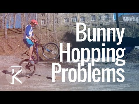 Watch Learning How To Bunny Hop A Mtb Problems And Mistakes