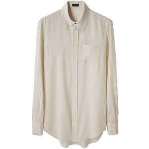 Someone please tell me where I can find one of these for under $100. I just want a nice white silky button up that I can tuck into jeans :-(