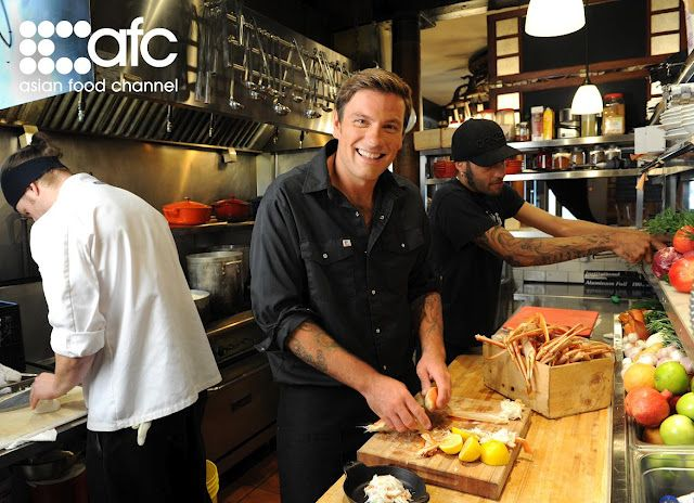 Celebrity chef chuck hughes at garde manger photo courtesy of asian celebrity chef chuck hughes at garde manger photo courtesy of asian food channel forumfinder Choice Image
