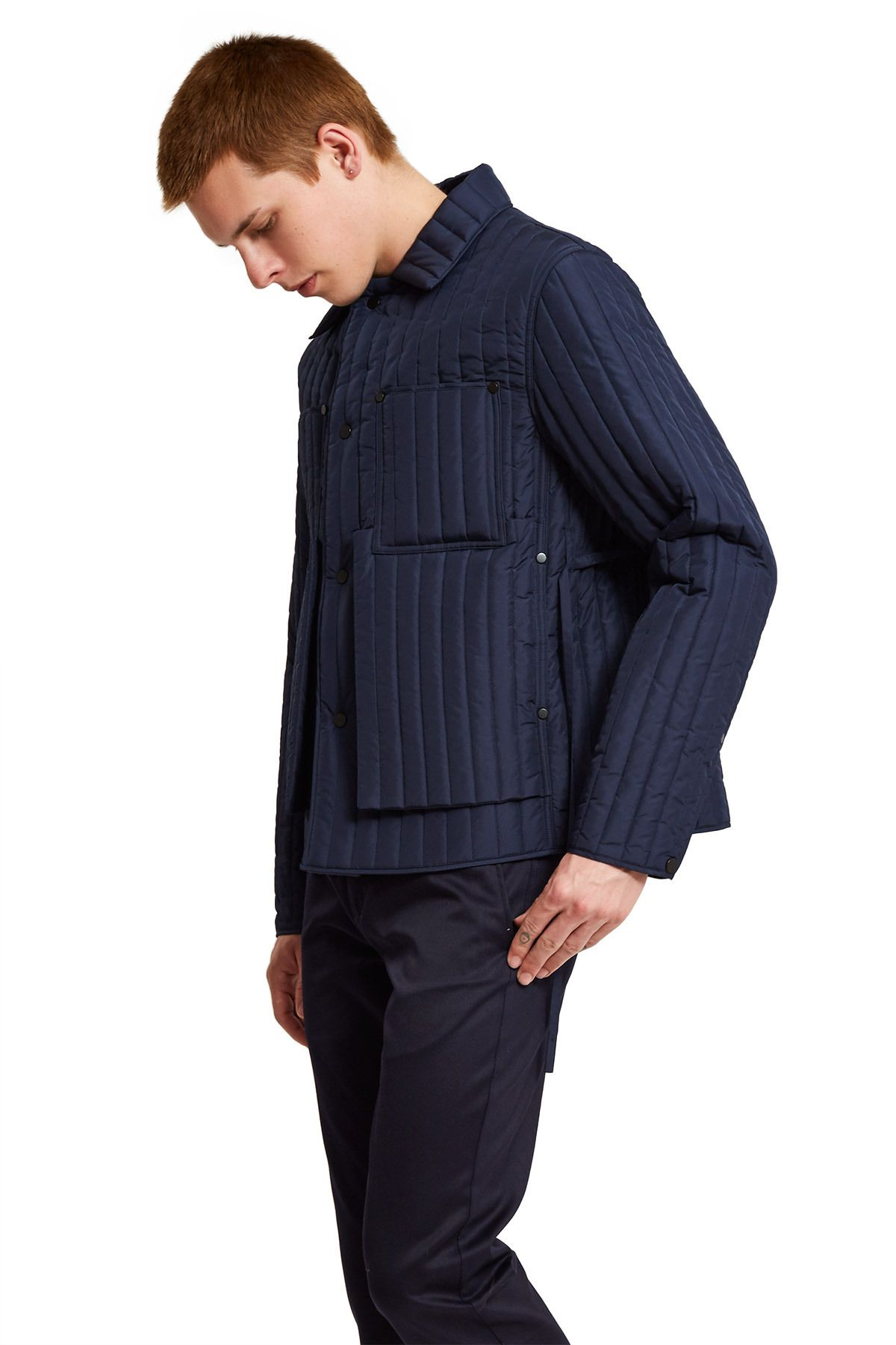 Craig Green Quilted Workwear Jacket Opening Ceremony Jackets Opening Ceremony Mens Outfits