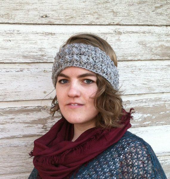 Grey Textured Headband  $11.50 USD