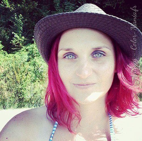 Coloration Cheveux Rose Cerise Directions