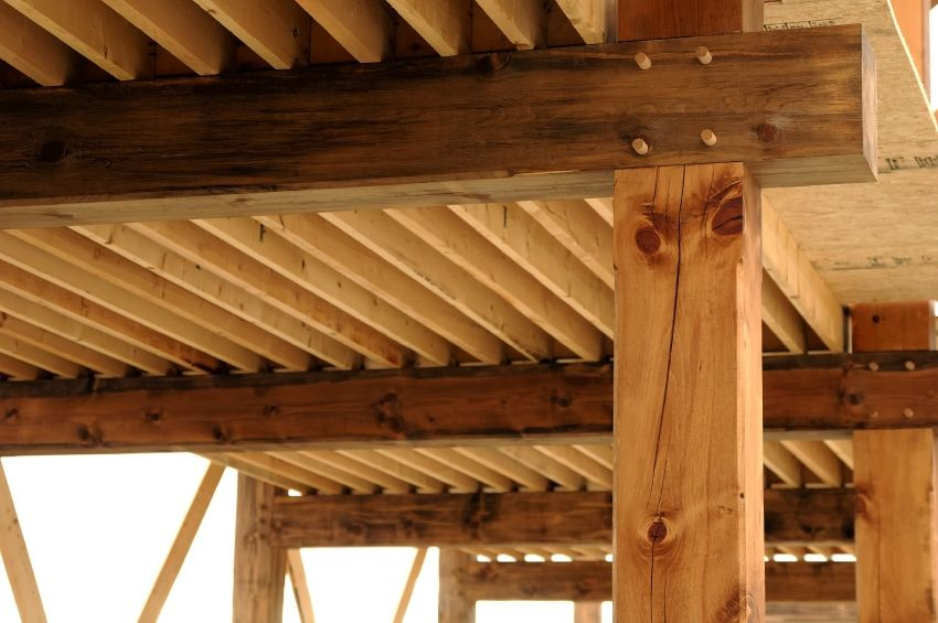 lindo cruce de madera   Estructura en Madera   Pinterest   Madera ...