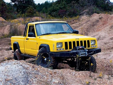 Mj With 97 Front Clip From Jp Magazine Jeep Suv Willys Jeep Jeep Truck