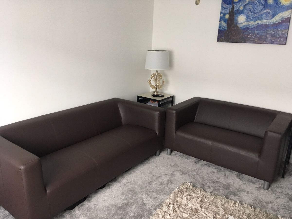 Black Leather Sofa 3 2 Argos In 2020 Black Leather Sofas Faux Leather Sofa Argos Home