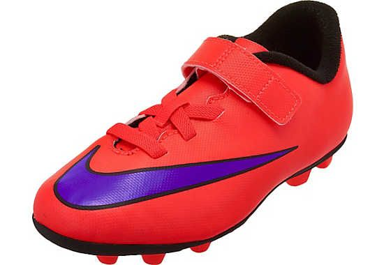 Nike Youth Merurial Vortex Ii Fg R Velcro Soccer Cleats Red And Purple Soccerpro Com Soccer Cleats Cleats Soccer Shoes