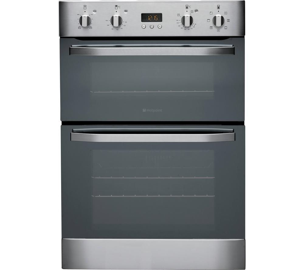 Hotpoint Ultima DH93CXS Built In Electric Double Oven - Stainless ...