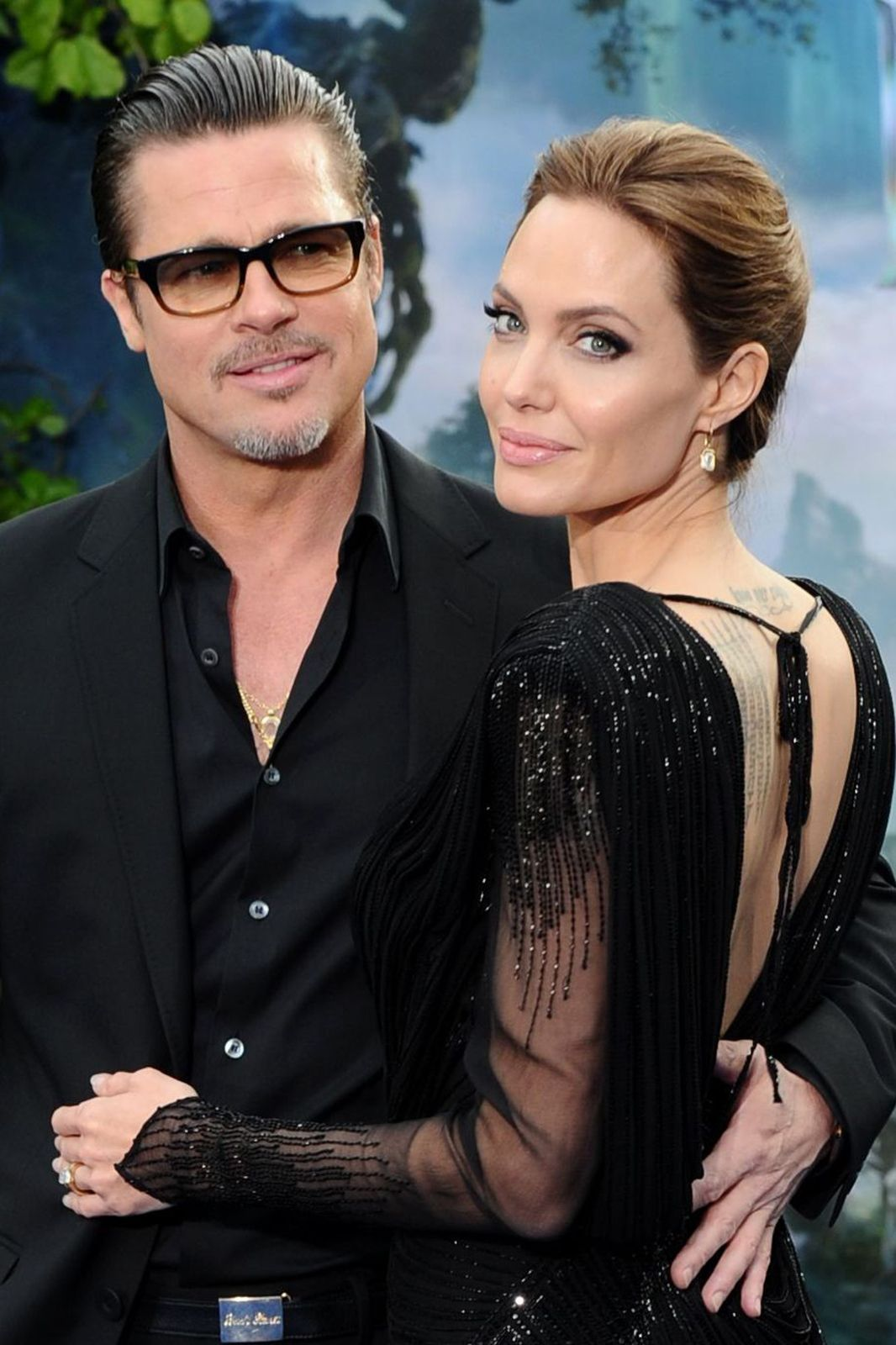 An Ode To Brad & Angelina: Hollywood's Most Magnificent Newlyweds   http://www.refinery29.com/2014/08/73632/brad-pitt-angelina-jolie-wedding#slide10  He's mine/she's mine, the his-and-her edition.