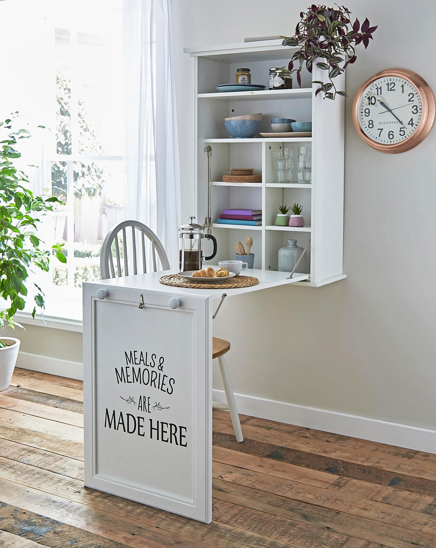 Wall Mounted Foldable Kitchen Table In 2020 Wall Mounted Folding