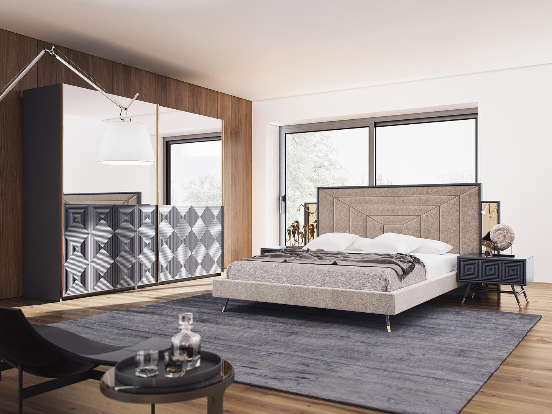 New Collection Nill's | Vela Bedroom ______________________  Yeni Koleksiyon Nill's | Vela Yatak Odası  #nillsfurnituredesign #homedecor #bedroom #chestofdrawers #commode #wooden #yatakodası #evdekorasyonu